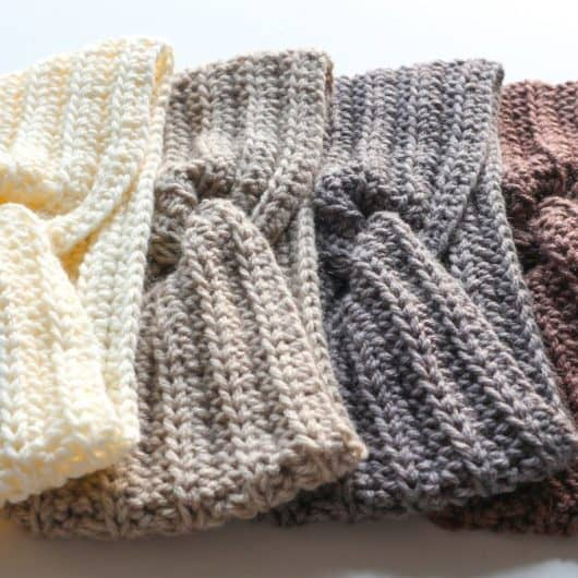 Woolster headband collection - various colours